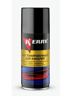 Лак для фонарей тонировочный Черный 210мл Kerry