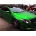 Зеленый Матовый хром