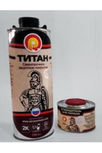 Сверхпрочное полиуретановое покрытие ТИТАН (Колеруемая база)