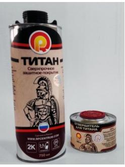 Сверхпрочное полиуретановое покрытие ТИТАН (Черный)