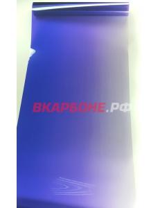 Полоса на лобовое стекло с переходом Синяя