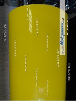Желтая глянцевая пленка