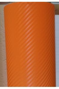 3Д Карбон Оранжевый