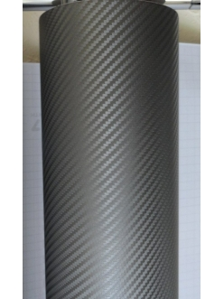 Пленка виниловая под 3D карбон Графитовый
