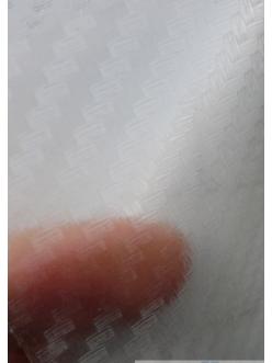 Пленка виниловая под 3D карбон прозрачный